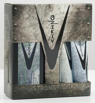 Подарочн. набор VIKING STRONG MAN  (гель д/душа+гель д/бритья)